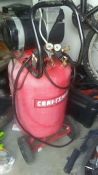 red and black Craftsman air compressor Kelowna, V1X 3B3