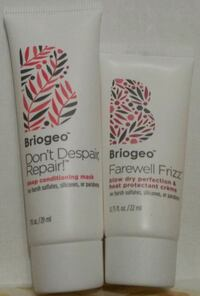 BRAND NEW Briogeo 2 Piece Haircare Set!! New York
