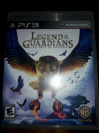 Legend of The Guardians PS3 game case Oakland, 94619