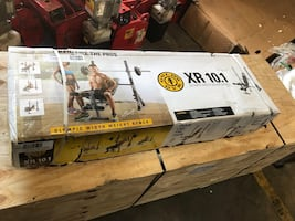 Brand new- Gold's Gym XR 10.1 Weight Bench. Retails for $100