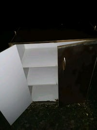 white and black wooden cabinet Fayetteville, 37334