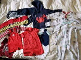Carters baby boy clothes size 6M