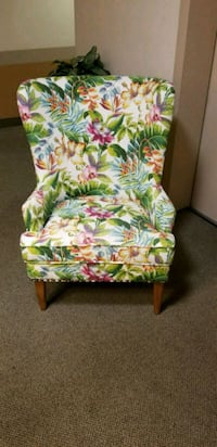 Beautiful Pier 1 Floral Wingback Chair  Kensington, 20895