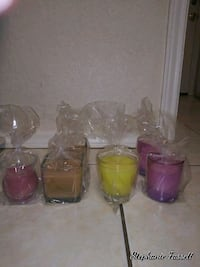 Paraffin wax homemade candles.  Wylie, 75098