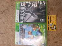 XBOX 360 Minecraft or Call of Duty games Ajax, L1S 4E5