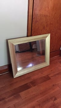 Gold home decor mirror