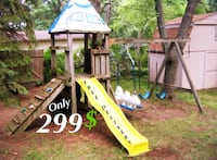 Outer Space Themed Kids Play Structure Set Clawson, 48017