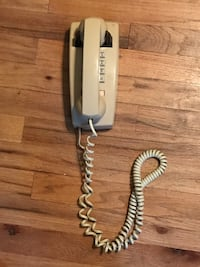 Hard wired wall phone ( works) Holbrook