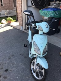 white and black motor scooter Caledon, L7E 1X5