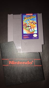 DuckTales Nintendo NES with dust cover Richmond, V6Y 0A7