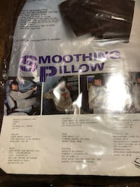 Brand New Smoothing Pillow Color Brown  Battery Operated with on / Off switch  Asking $ 4.00