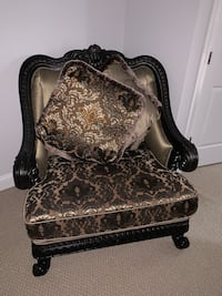 Luxury brown chair