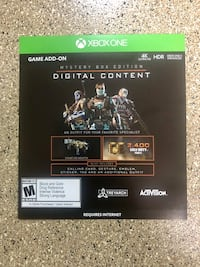 Call of Duty: Black Ops 4 Mystery Box Edition Digital Content Xbox One Gresham