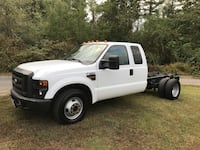 2008 Ford F-350 Super Duty Chassis Cab 6.4l diesel 2 wheel drive