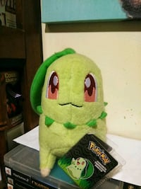 green and black plush toy Watervliet, 12189