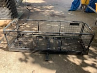 Metal cargo carrier W/ hitch Annandale