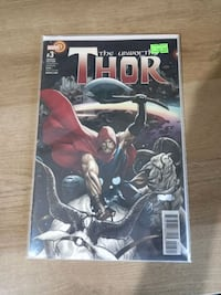 The Unworthy Thor #3 Variant Edition Kartepe