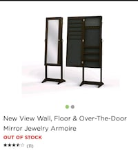 New in box 3 way jewelry armoire Getzville, 14068