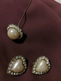 Clip on earrings with broche Windsor