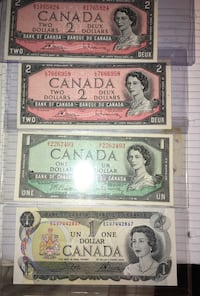 1954 OLD BANK NOTES  Windsor, N9C 2B4