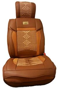 brown leather seat covers  Mississauga, L4W 0C2