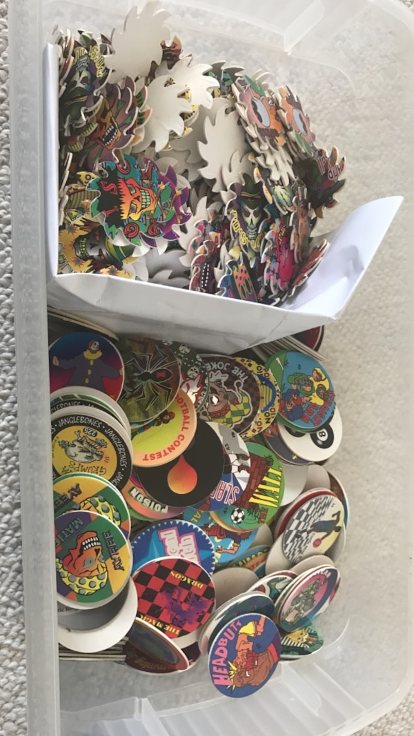 Huge Lot of POGS 90s Game Slammer Holo