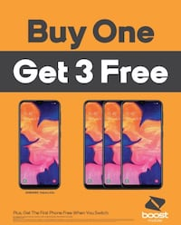 Buy One Samsung Galaxy A10e and Get Three FREE Bakersfield, 93304