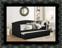 Daybed black with mattress Capitol Heights, 20743