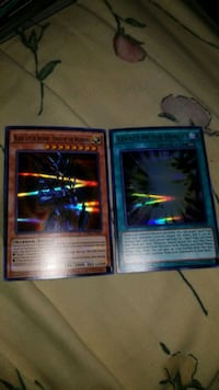 two Yu-Gi-Oh trading cards Southington, 06489
