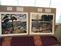 Group of seven prints - 7 beautiful pieces poster size 24x20  Toronto, M5P 1R5