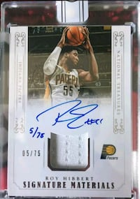 Pacers Roy Hibbert certified autograph Lakewood, 90712
