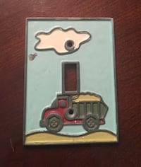 Dumptruck light switch cover  Rosenberg, 77469