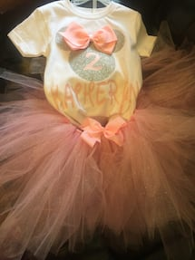 Minnie Mouse tutu I can do just about anything