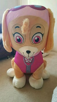 pink and white bear plush toy Morinville, T8R 0A3