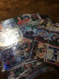 348 hockey card including 6 Tim Hortons cards and 1 platinum profiles card (willing to trade) Abbotsford, V2T 3T2