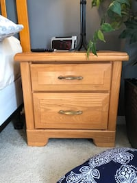 Brown wood bedroom end table Eastchester, 10709