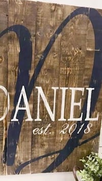 I can customize these anyway you would like. These start at $45 on barnwood. Duncan