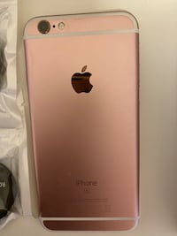 Iphone 6s 64Gb rose gold color Mississauga, L5B 4M6