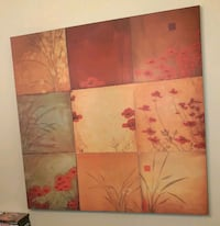 Six gorgeous canvas paintings wall decor