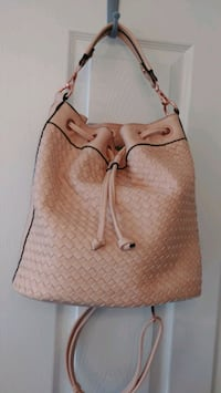 Woven backpack/purse.  King George, 22485