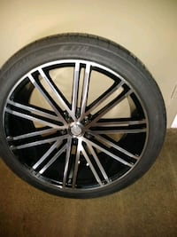Y2 rims with tires brand new 5-115