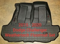 2015 - 2020 Dodge Challenger Weathertech Floor Mat Set