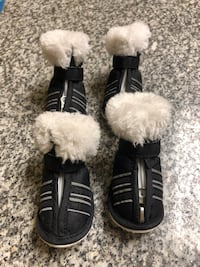 Small Pet Shoes in Black/White Toronto, M4Y 2K3