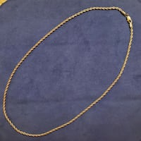 Unisex Stainless steel rope chain  Essex, 21221