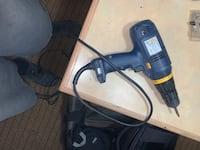 Ryobi corded drill with case