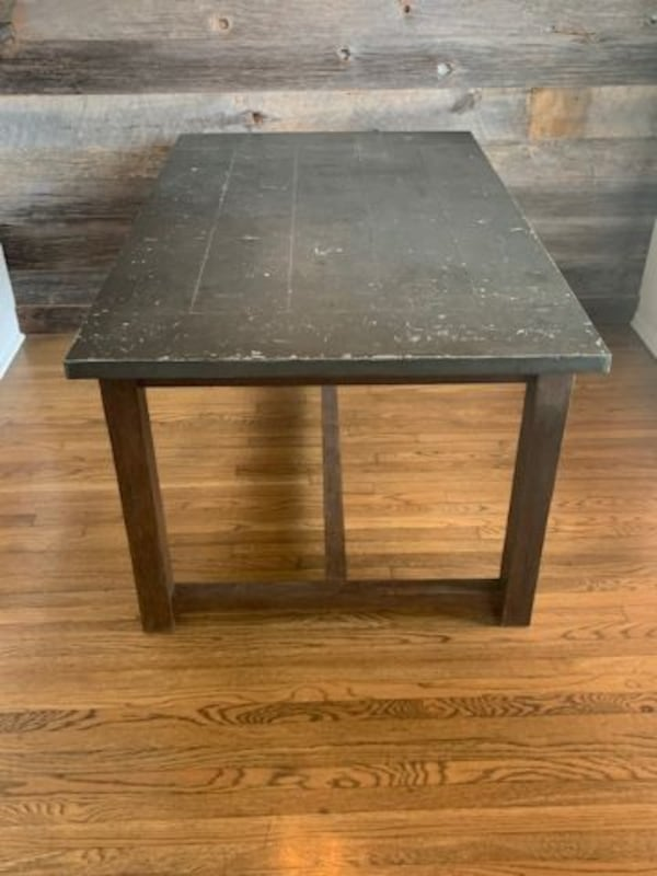 Modern Industrial Dining Room Table / Desk 8e41f204-dfc0-477d-a855-94401cfb51bd
