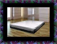 Singlesided pillowtop mattress with box all size Adelphi