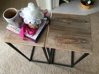 2 Industrial style Tables Dallas, 75219