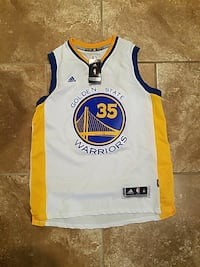 Kevin Durant warriors basketball jersey