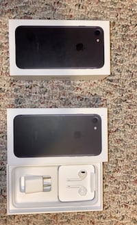 iPhone 7 AirPods and box (not  phone) just box and airpods  Fairfax, 22031